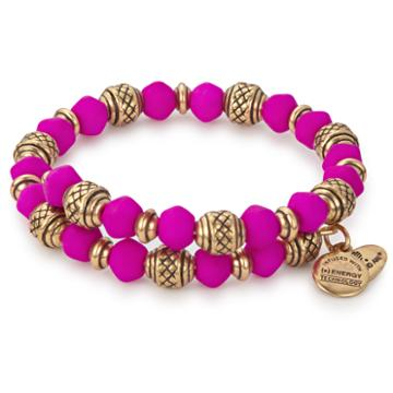 Alex And Ani Dragonfruit Electric Wrap, Rafaelian Gold Finish