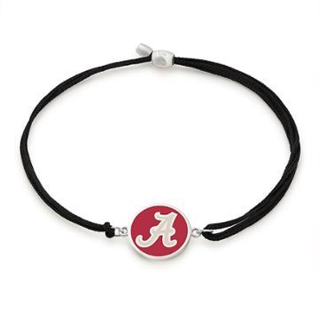 Alex And Ani University Of Alabama Pull Cord Bracelet, Sterling Silver