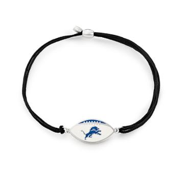 Alex And Ani Detroit Lions Pull Cord Bracelet, Sterling Silver