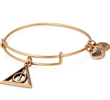 Alex And Ani Harry Potter  Deathly Hallows  Charm Bangle, Rafaelian Gold Finish
