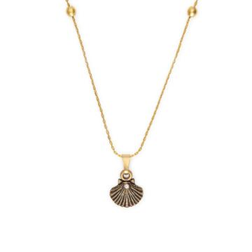 Alex And Ani Sea Shell Expandable Necklace