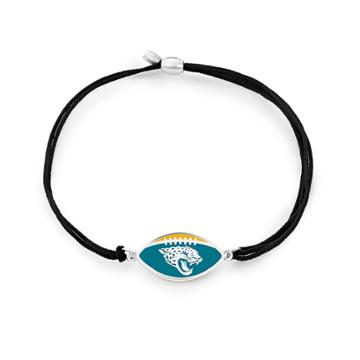 Alex And Ani Jacksonville Jaguars Pull Cord Bracelet, Sterling Silver