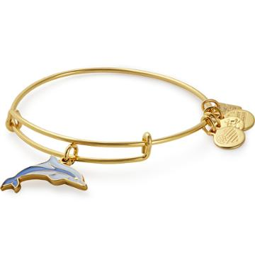 Alex And Ani Dolphin Charm Bangle | Association Of Zoos And Aquariums