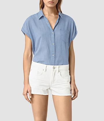 Allsaints Tyra Short Sleeve Shirt