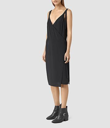 Allsaints Vea Silk Dress