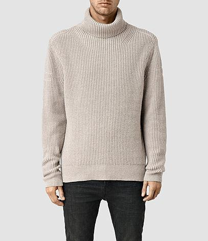 Allsaints Karser Funnel Neck Sweater