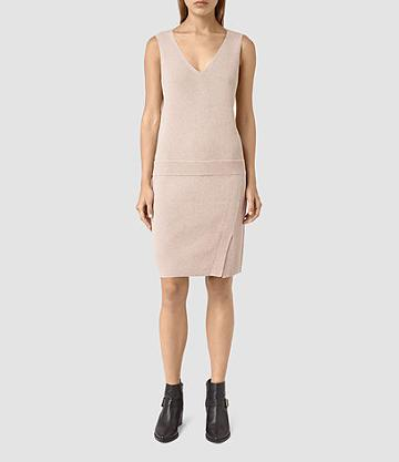 Allsaints Rassa Knitted Dress