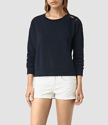 Allsaints Revo Lace Up Jumper