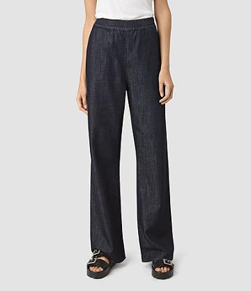 Allsaints Bloom Denim Sweatpants