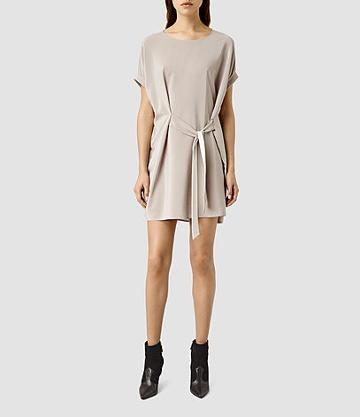 Allsaints Sonny Silk Dress