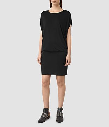 Allsaints Iris Jersey Dress