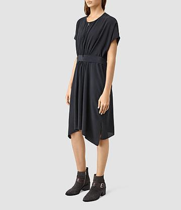 Allsaints Nevis Silk Dress