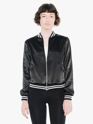 American Apparel Metallic Bomber