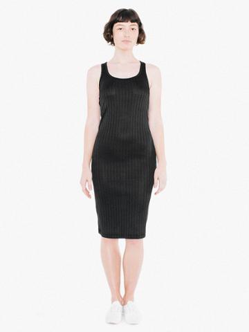 American Apparel Ashbury Rib Sabine Midi Dress