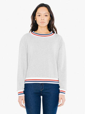 American Apparel Lightweight French Terry Sport Sweatshirt