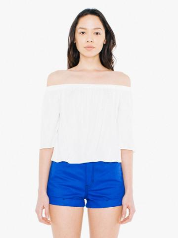 American Apparel Viscose Twill Willow Top
