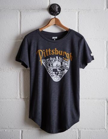 Tailgate Women's Downtown Pittsburgh T-shirt