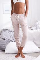 Aerie Lace-up Fleece Pant