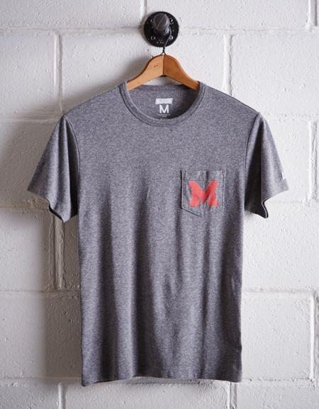 Tailgate Men's Maryland Pocket T-shirt