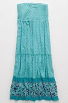 Aerie Tiered Maxi Skirt