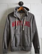 Tailgate Men's Maryland Zip-up Hoodie
