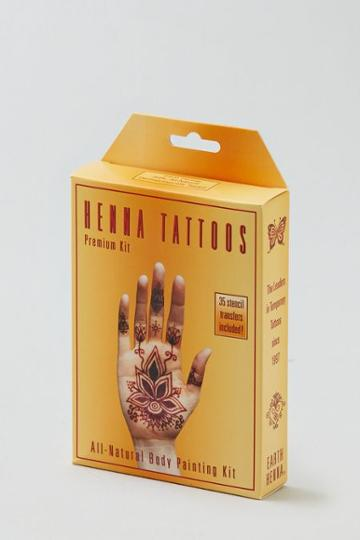 American Eagle Outfitters Earth Henna? Henna Tattoos Premium Kit