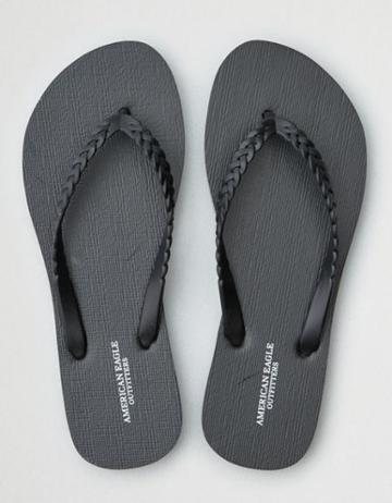 American Eagle Outfitters Ae Braided Flip Flop