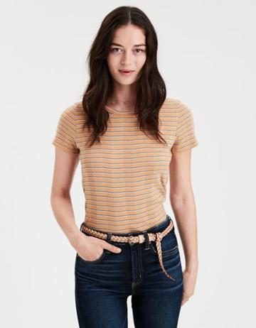 American Eagle Outfitters Ae Striped Boy Tee