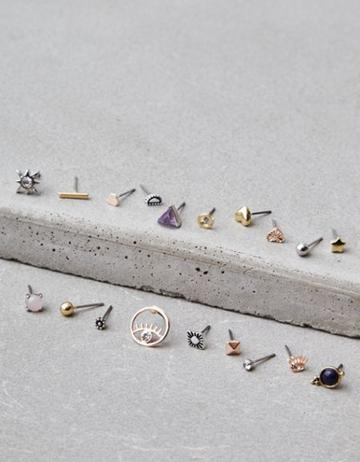 American Eagle Outfitters Ae Multi Stud Earring 18-pack