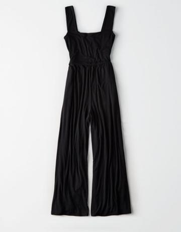 American Eagle Outfitters Ae Knit Square Neck Jumpsuit