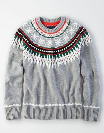 American Eagle Outfitters Ae Fair Isle Sweater