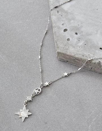 American Eagle Outfitters Ae Star Single Chain Necklace