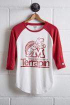 Tailgate Women's Maryland Baseball Shirt