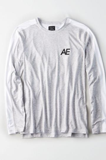 American Eagle Outfitters Ae Active Long Sleeve T-shirt