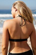 Aerie Super Scoop Halter Bikini Top