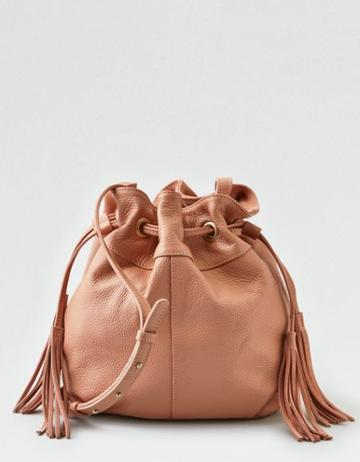American Eagle Outfitters Ae Wander Leather Bucket Bag