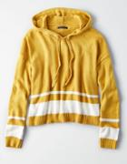 American Eagle Outfitters Ae Slouchy Stripe Hoodie