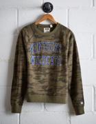 Tailgate Women's Kentucky Camo Fleece Sweatshirt