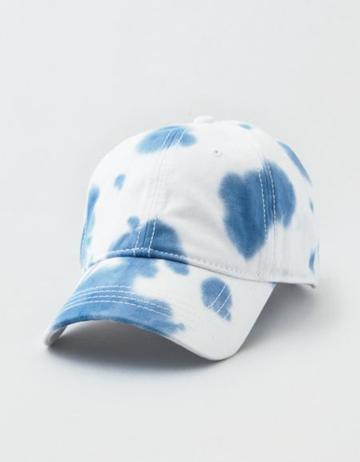 American Eagle Outfitters Ae Navy Dye Effects Dad Hat
