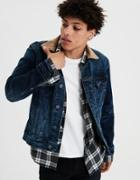 American Eagle Outfitters Ae Light Wash Jean Jacket