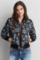 American Eagle Outfitters Ae Reversible Bomber Jacket