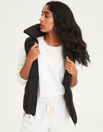 American Eagle Outfitters Ae Quilted Puffer Vest