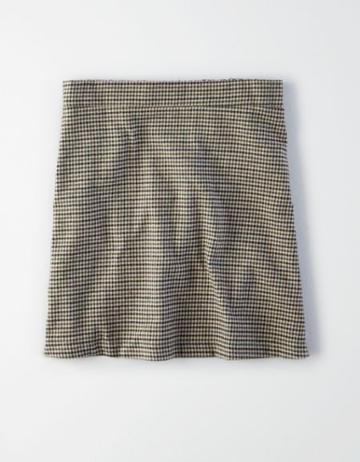 American Eagle Outfitters Ae Plaid Mini Skirt