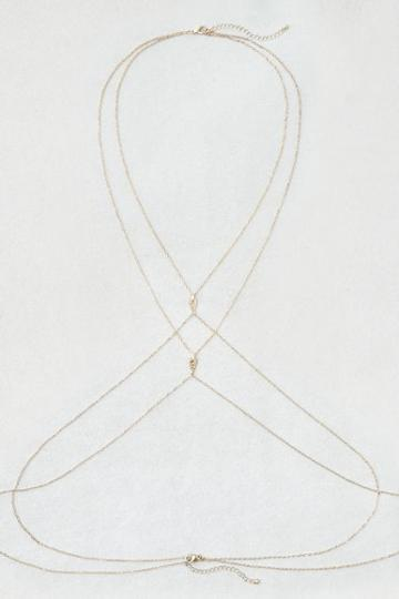 American Eagle Outfitters Ae Gold Body Chain