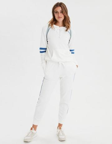 American Eagle Outfitters Ae Ahhmazingly Soft Arm Stripe Hoodie