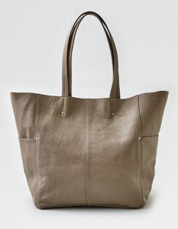 American Eagle Outfitters Ae Wander Leather Large Tote