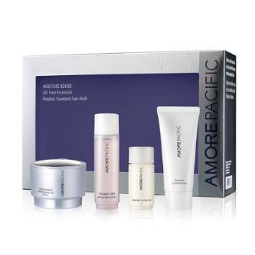 Amorepacific Moisture Bound Oil-free Essentials Set (limited Edition)
