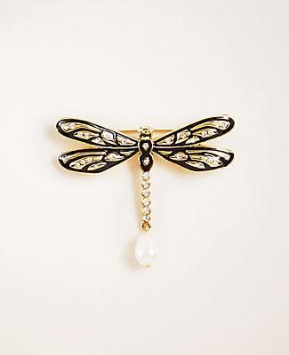 Ann Taylor Dragonfly Brooch