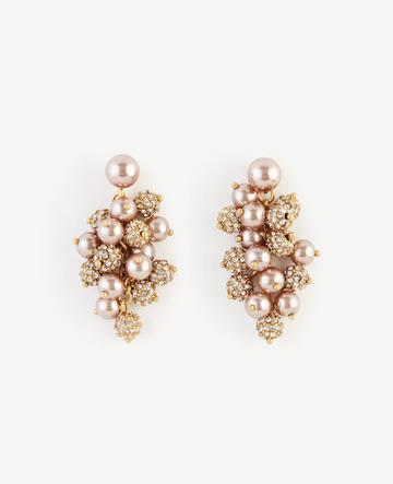 Ann Taylor Pearlized Cluster Earrings