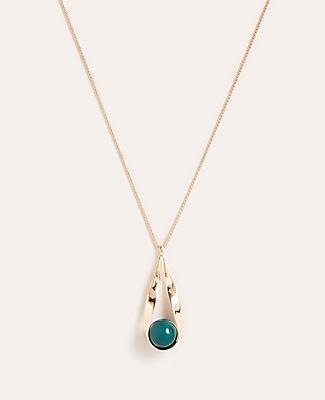 Ann Taylor Ball Pendant Necklace